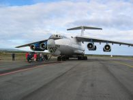 IL-76 Ready to Depart