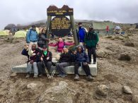 December Kilimanjaro Team at Karanga Camp (Phunuru Sherpa)