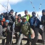 December Trekking Team all smiles in Namche (Sonam Dorje_Sherpa)