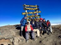 Phunuru and the Team on the summit! (Phunuru Sherpa)