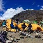 Relaxing In Barafu Camp (Phunuru Sherpa)