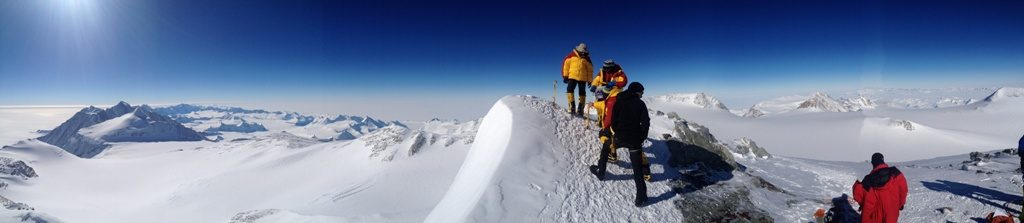 Summit of Vinson on a previous expedition (Greg Vernovage)