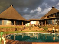 Evening at the Ngorongoro Sopa Lodge (Phunuru Sherpa