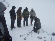 Proper crevasse rescue skills are essential in the mountains (Greg Vernovage)