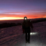 Dawn on the climb of Huayna Potosi (Roberto Gomez)