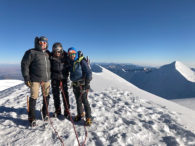 Illimani Summit Team (Roberto Gomez)