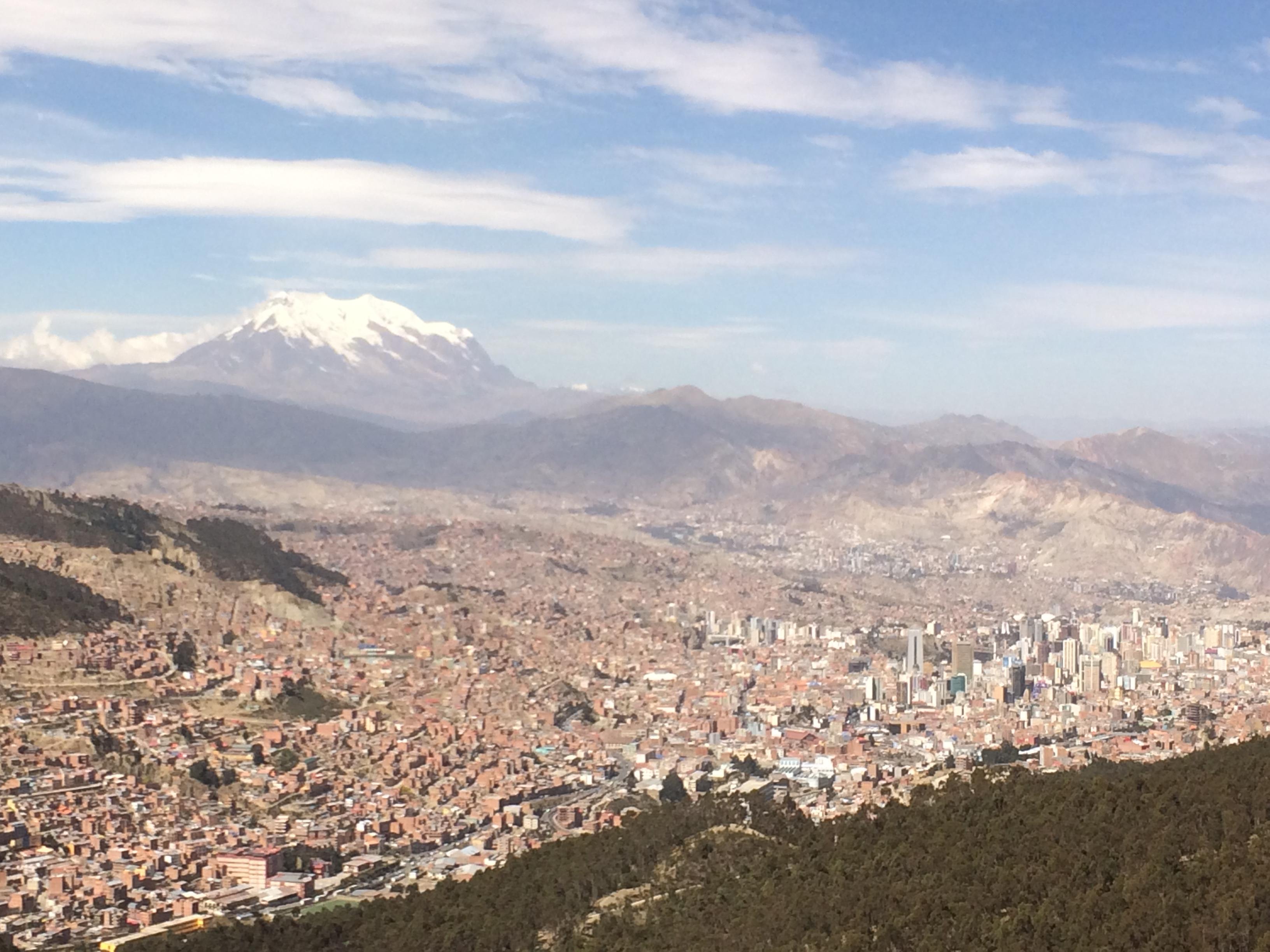 Looking at Illimani from La Paz (Giorgio Zannini)