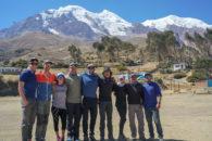 2019 Bolivia Team at Illimani Trailhead (Harry Hamlin)
