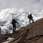 Climbing to High Camp On Illimani (Adam Clark)