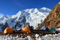 High Camp on Illimani (Greg Vernovage)