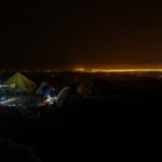 Lights of La Paz from High Camp on Illimani (Harry Hamlin)