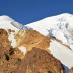 Looking up Illimani from High Camp (Greg Vernovage)