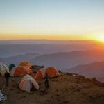 Sunset at High Camp on Illimani (Harry Hamlin)
