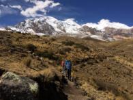 Trekking to Base Camp on Illimani (Adam Clark)