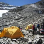 Camp 1 on Putha Hiunchuli (Karma Rita Sherpa)