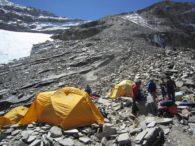 Camp 1 on Putha Hiunchuli (Karma Rita Sherpa)