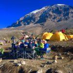 Lunch at Barafu Camp (Phunuru Sherpa)