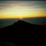 Sunrise over the summit of Mawenzi (Eric Simonson)