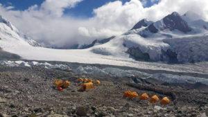 IMG ABC and Nangpa La (Kaji Sherpa)