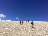 Trekking near Chinese Base Camp (Phunuru Sherpa)