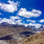 Cho Oyu through the clouds (Phunuru Sherpa)