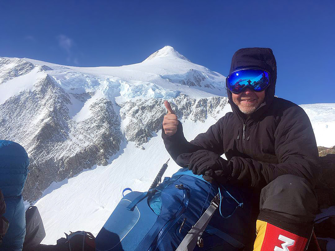 Between C1 and High Camp on Vinson (Emily Johnston)