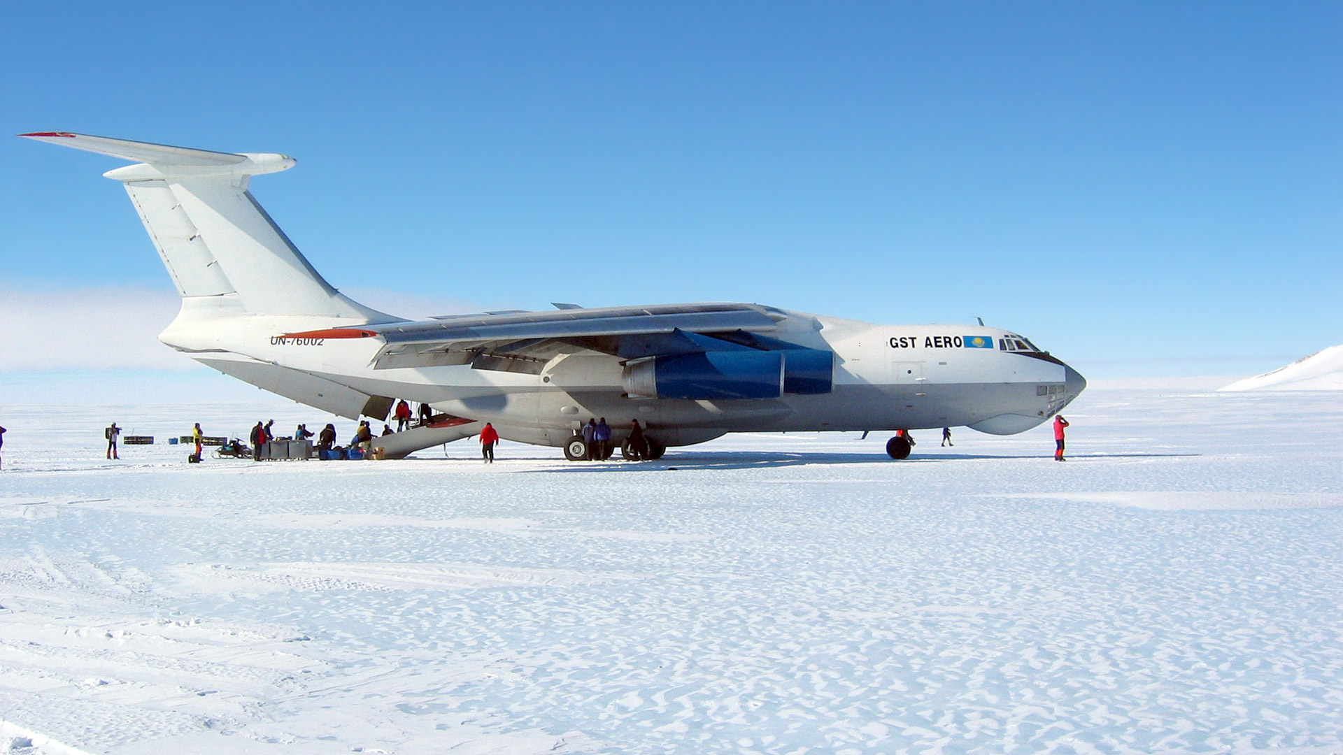 The Vinson team is hoping to be on the big IL 76 soon (Phil Ershler)
