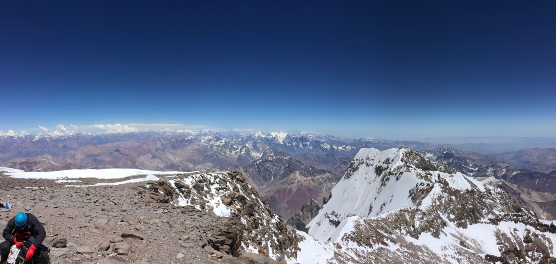 View from the summit of Aconcagua (Jonathan Farnsworth)