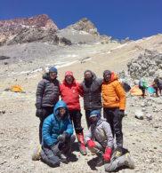 IMG team in Aconcagua HC (photo: Rikki Dunn)
