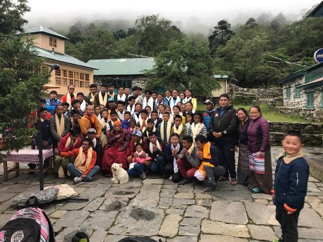 Meeting with His Great Holiness Tengboche Ringpoche (Phunuru Sherpa)