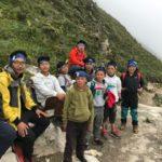 Trekking to Pangboche (Phunuru Sherpa)