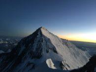 Mount Everest from the summit of Lhotse (Phunuru Sherpa)