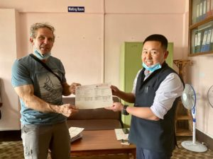 2021 Everest Permit with Andy Politz (Ang Jangbu Sherpa)