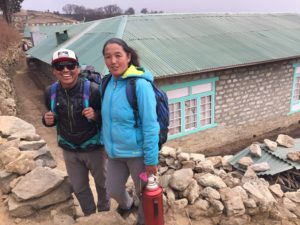 Phunuru and wife Kancha near their home in Phortse (Eric Simonson)
