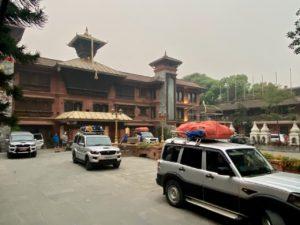 Team 1 departing the hotel in KTM (Ang Jangbu Sherpa)