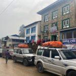 Team 2 arrives to Phaplu (Ang Jangbu Sherpa)