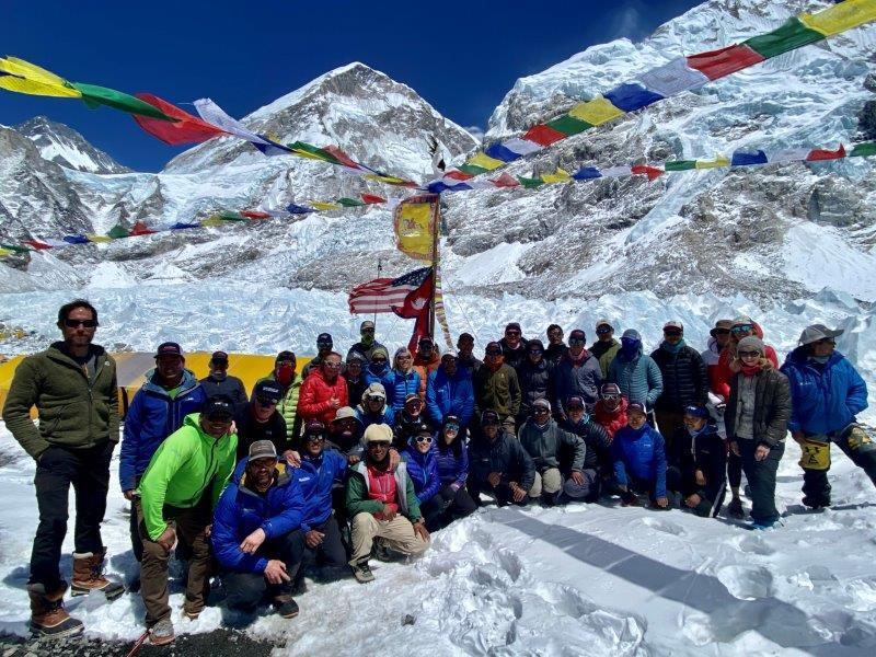 2021 Everest-Lhotse Team (Ang Jangbu Sherpa)