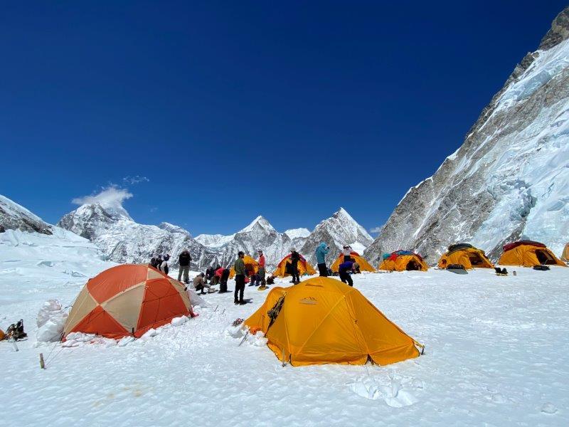 Camp 1 (Phunuru Sherpa)