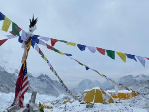 Changing weather at EBC (Ang Jangbu Sherpa)