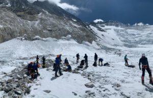 Crampon Point before Lhotse Face (Kevin Kayl)