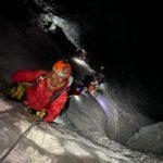 IMG Guide Phunuru Sherpa climbing a steep pitch in the_Icefall (Jonathan Schrock)