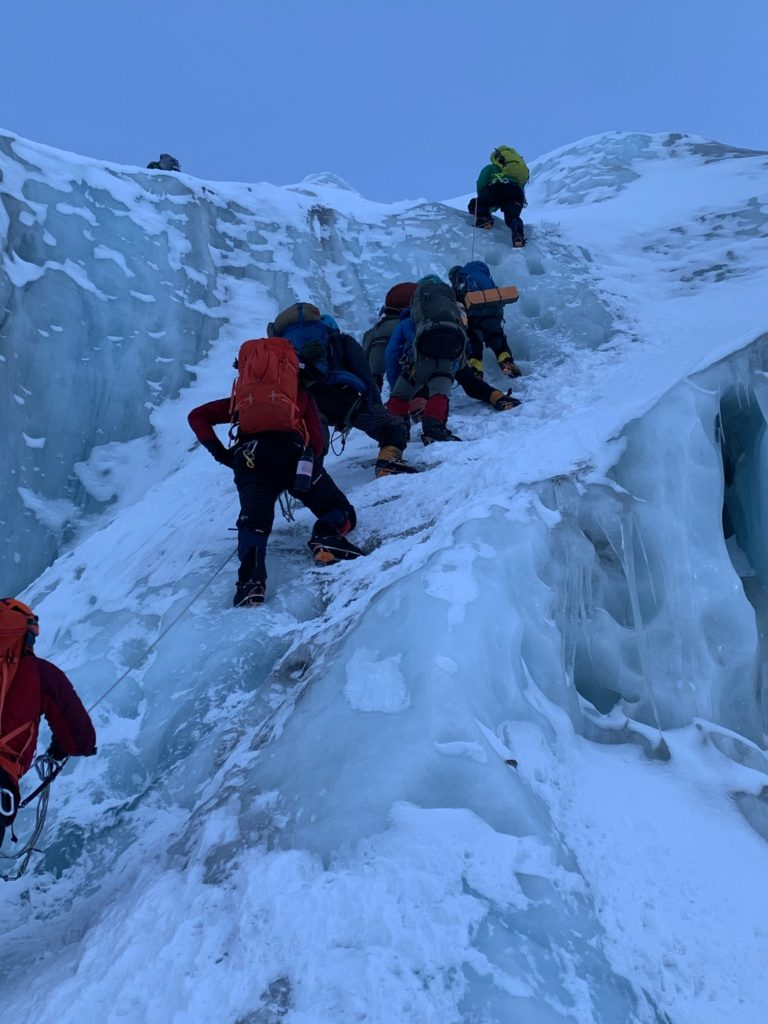 Icefall Climbing With Team 2 (Andy Politz)