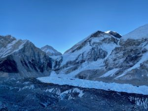 Morning view of EBC with Everest (Ang Jangbu Sherpa)