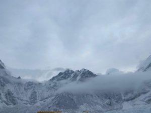 Snow at EBC (Ang Jangbu Sherpa)