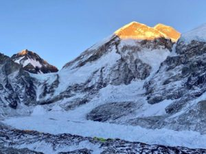 Sunset of Everest and the West Shoulder (Ang Jangbu Sherpa)