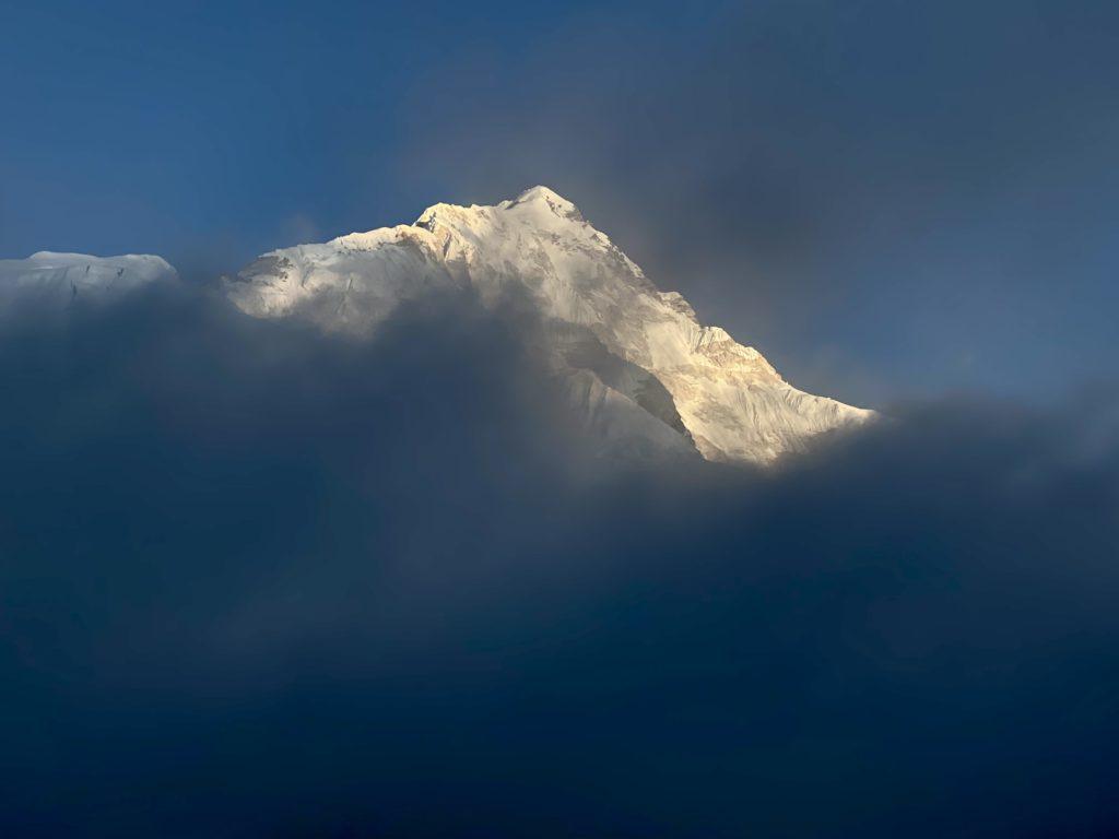 Sunset on Pumori (Ang Jangbu Sherpa)