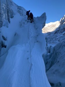 Working in the Icefall (Andy Politz)