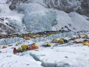 Camp 2 on Mount Everest (Phunuru Sherpa)