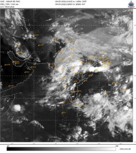 Cyclone and Weather over Everest