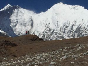 East Face of Lhotse and Everest from Kangshung Glacier (Eric Simonson)